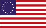 1778 U.S. Flag