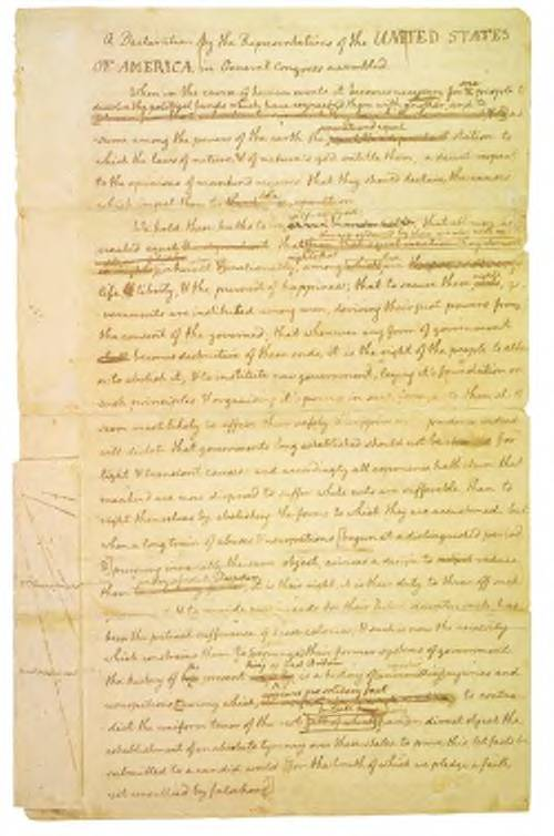 Jefferson's Draft