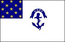 Colonial Rhode Island Flag